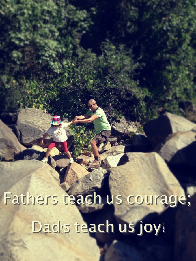 dads teach us joy