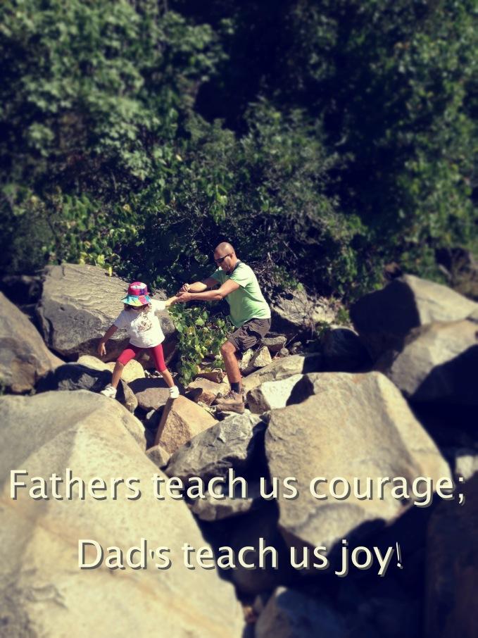 dads teach us joy
